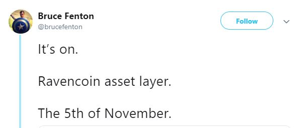 Ravencoin asset layer